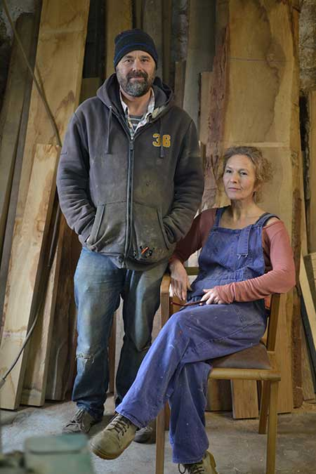 Makers Elizabeth and Ezra Harvey