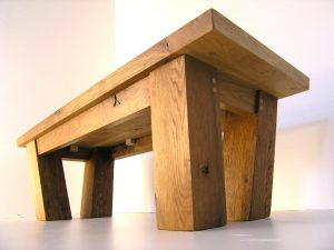 Bespoke two tone coffee table