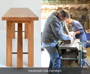 Handmade oak furniture