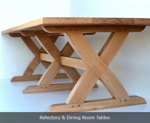 Bespoke refectory and dining room tables