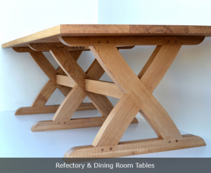 Refectory and dining room tables