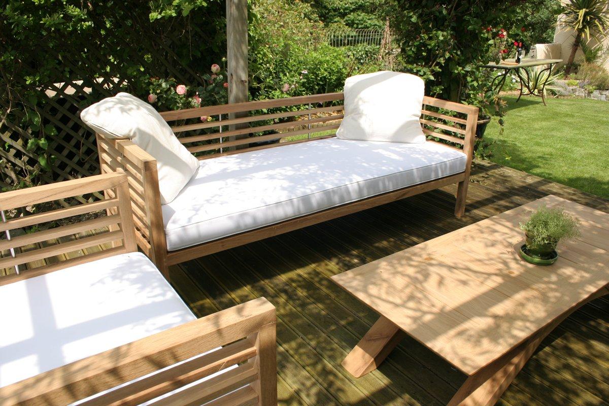 Loire Garden Bench Day Bed Makers Bespoke Garden Furniture