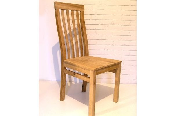 Bespoke oak dining chair