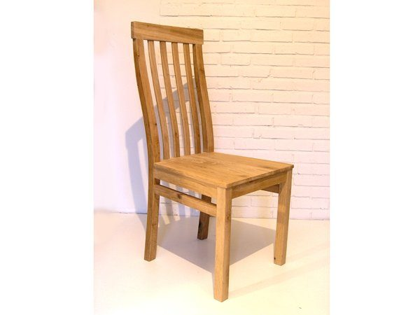 OAK HIGH BACK DINING CHAIR