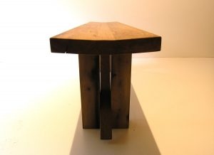 Oak Zen dining bench