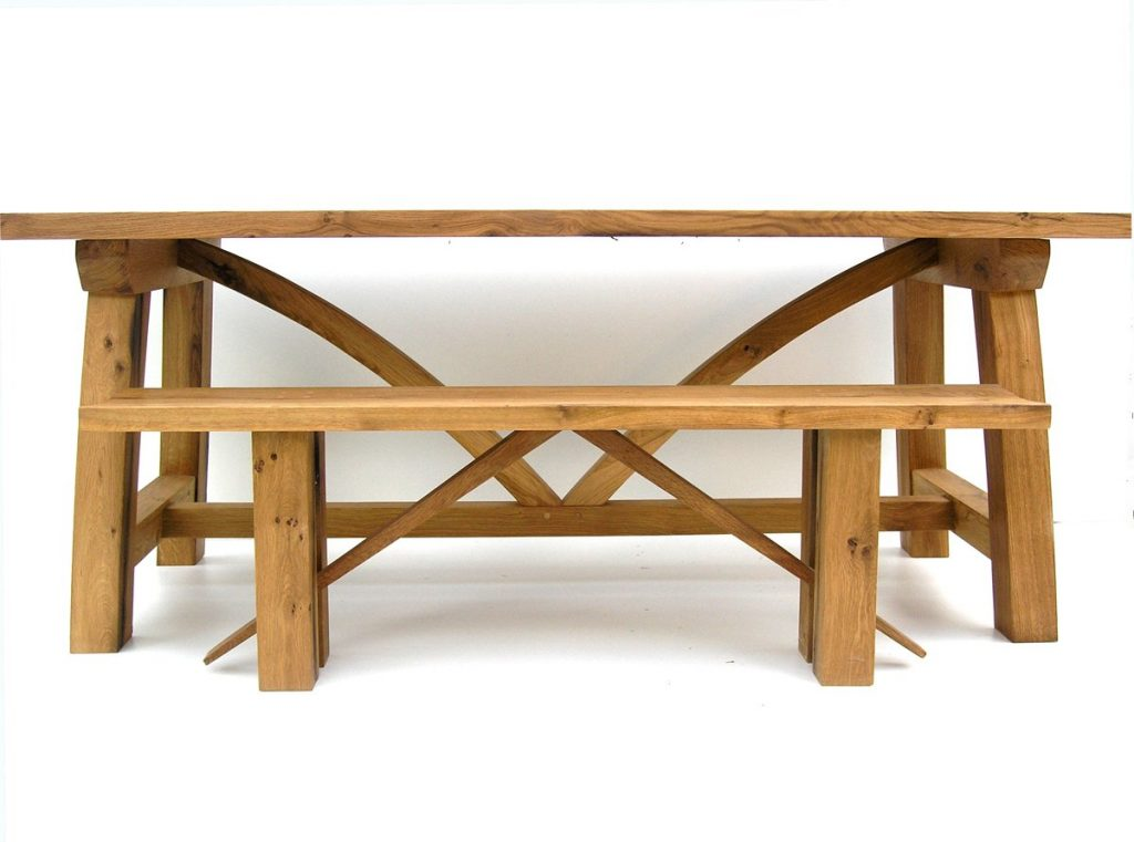 Bespoke refectory dining table