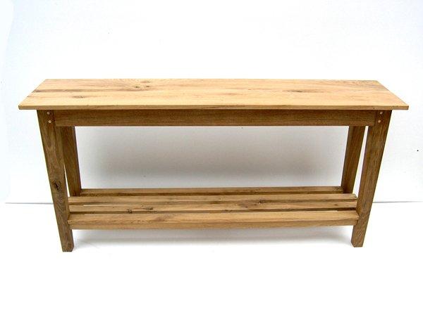 Simple Oak Console Table