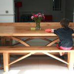CONTEMPORARY BESPOKE OAK REFECTORY TABLE