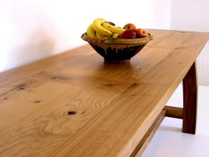 large oak console table UK delivery