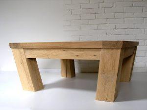 Bespoke oak coffee table by Makers