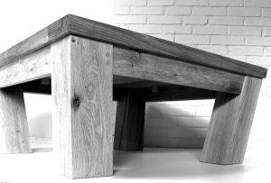 Handmade oak coffee table