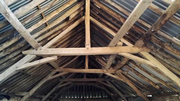 Makers workshop barn roof