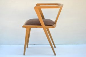 Oak Zen dining chair