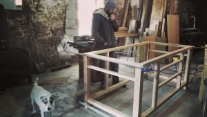 kitchen island framework