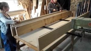 glueing-up a table top