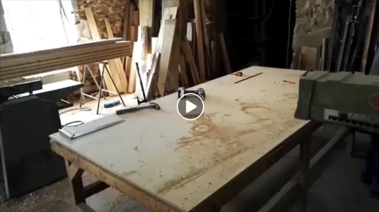 glueing up a table top