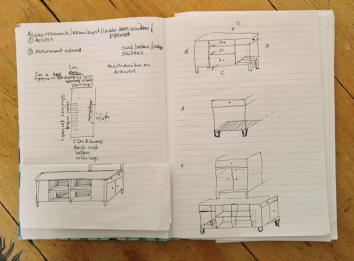 How to turn a Doodle into a Bespoke item of Furniture