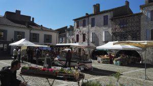 Lauzerte market