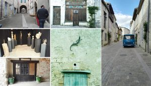 Images of Lauzerte visit