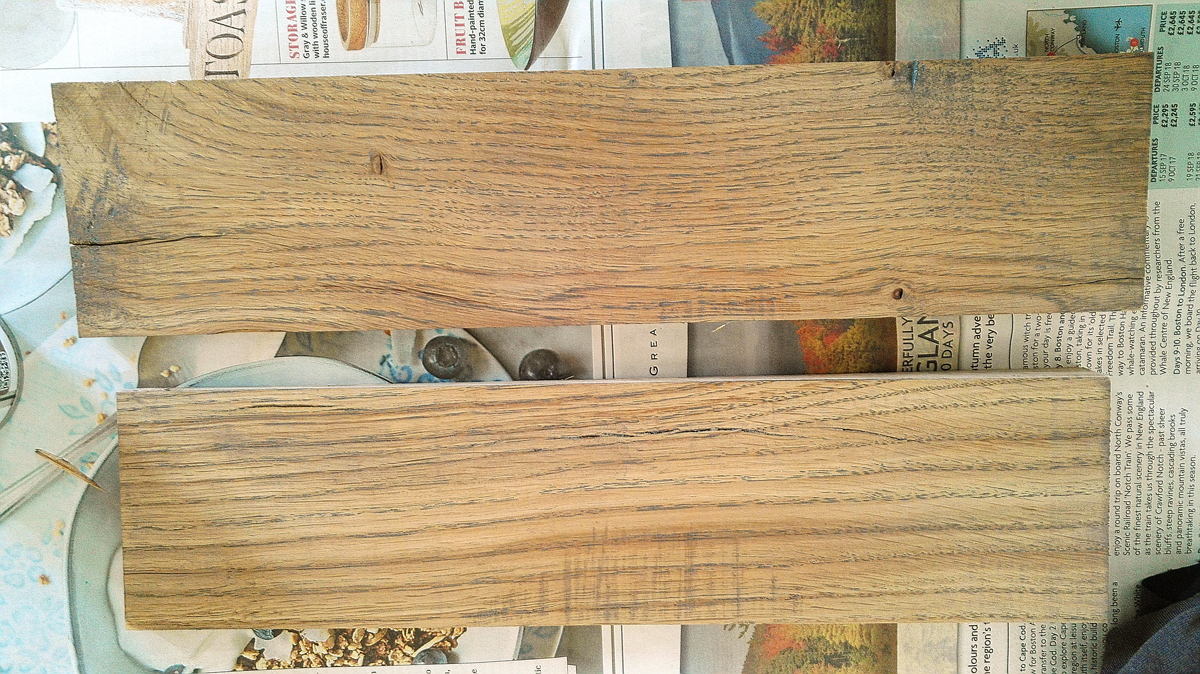Wood finishing: An oil tint recipe