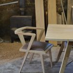 Zen dining chair handmade by Makers Bespoke Furniture