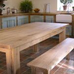 Bespoke oak dining table handmade to order