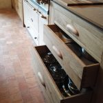 Bespoke French oak kitchen units - free standing