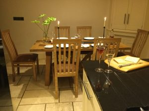 Client picture of 6 seat dining table