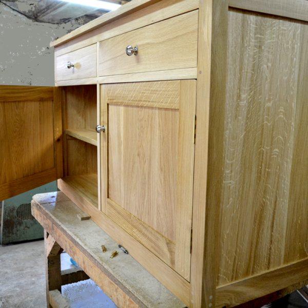bespoke oak sideboard