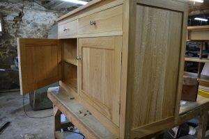 large bespoke sideboard