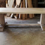 Bespoke pedestal table