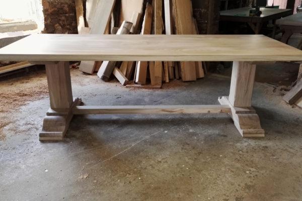 Bespoke pedestal table