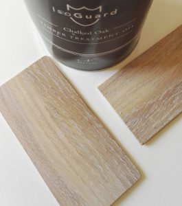 Isogard chalked oak finish