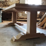 oak-pedestal-refectory-tabl
