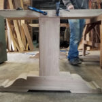 oak-pedestal-table