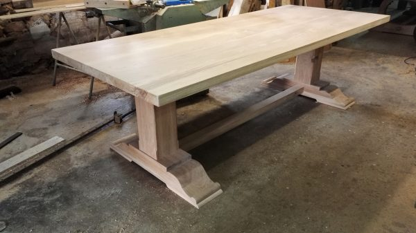 Bespoke pedestal refectory table
