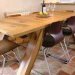 Handmade-oak-arch-leg-dining-table