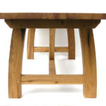 Oak refectory table france