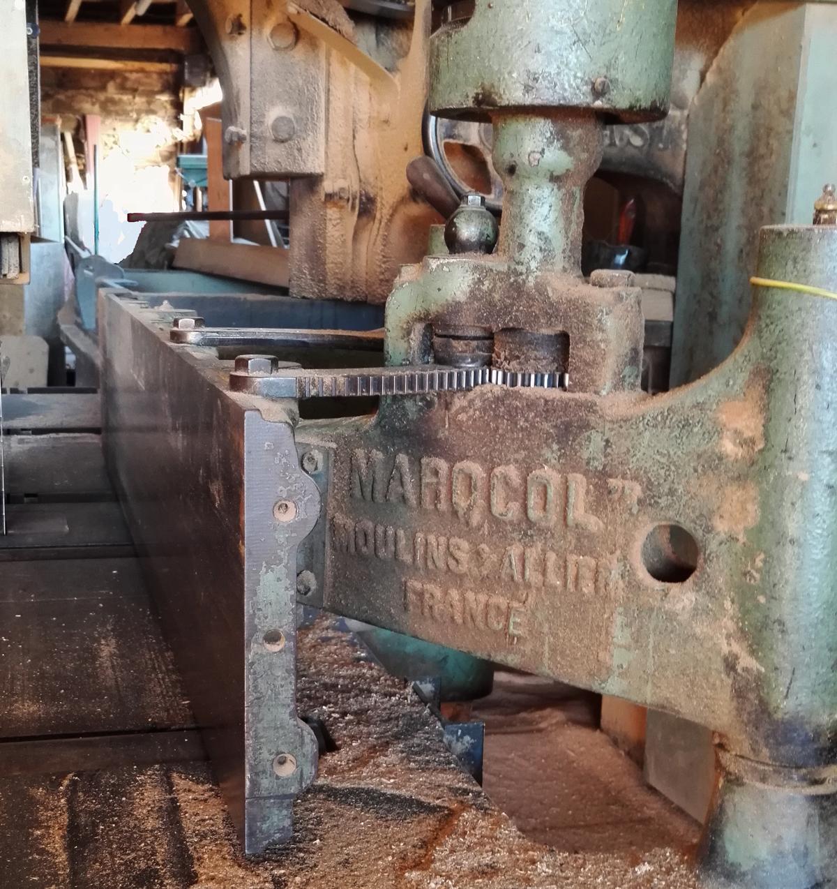 French wood working machine