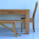 Bespoke handmade table chairs and benches