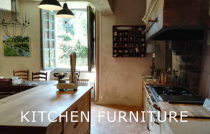 Bespoke kitchen island and cabinets France