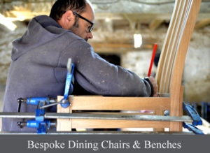 Bespoke dining chairs and benches