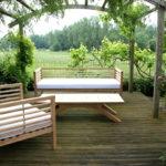 Bespoke garden seating