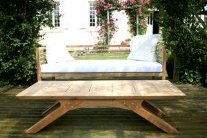 Bespoke garden furniture by Makers