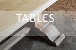 Bespoke handmade tables