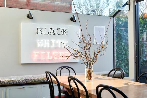 Bespoke table for an interior designer London