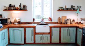 Reclaimed oak kitchen