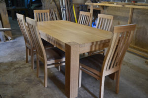 8 seat bespoke table