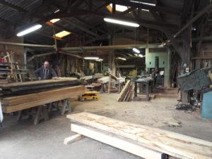 Makers bespoke furniture at the wood yard