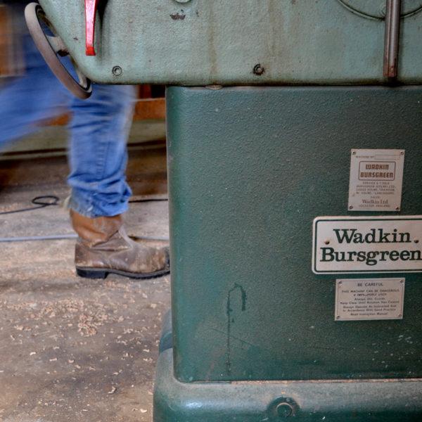 Wadkin Bursgreen planer